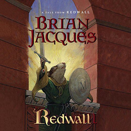 Redwall audiobook cover art