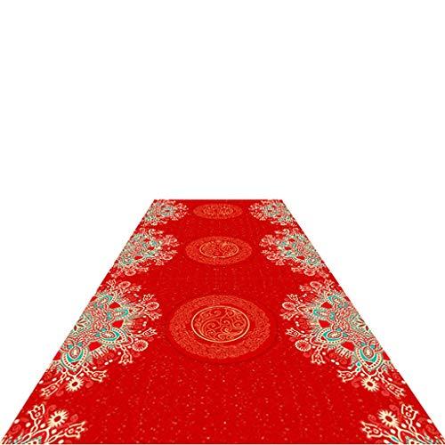 JH1 Alfombra De Pasillo Los Corredores De La Alfombra Roja para El Partido, 3D Alfombras Zona con Antideslizante Respaldo De Caucho, 0,8 M 1,2 M 1,6 M 1m Ancha, Largo (Size : 0.8×4m)