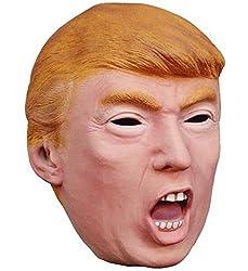 Shouting Trump Halloween Mask