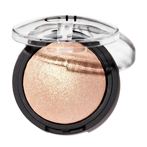 e.l.f. Baked Highlighter, Sheer Shimmering Color, Moonlight Pearls, 0.16 oz.