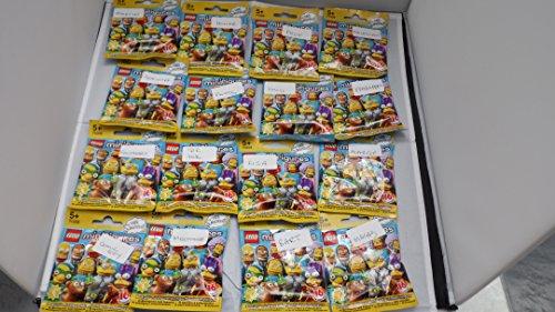 Lego Simpsons Serie 2 - COMPLETO CONJUNTO COMPLETO de 16 x Minifiguras - 71009