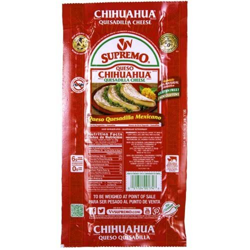 VV Supremo Queso Chihuahua Cheese, 5.6 Pound -- 8 per case.