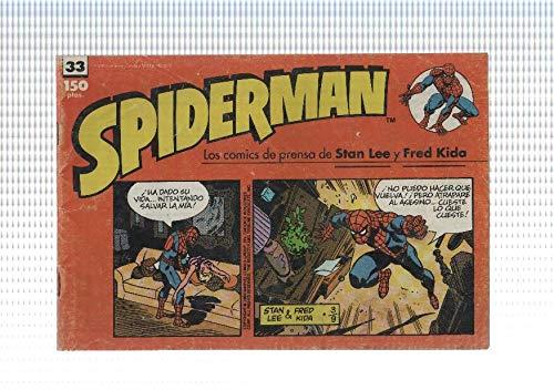 comic, forum: Spiderman num 33. Los comics de prensa de Stan Lee y Fred Kida. Spiderman contra Big John