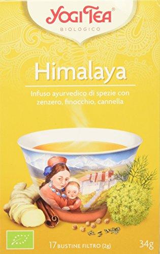 Yogi Tea Himalaya - 17 Bustine Filtro [34 gr]