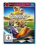 Bluray Kinder Charts Platz 15: Turbo - Kleine Schnecke, großer Traum  (inkl. Digital Ultraviolet) [Blu-ray]