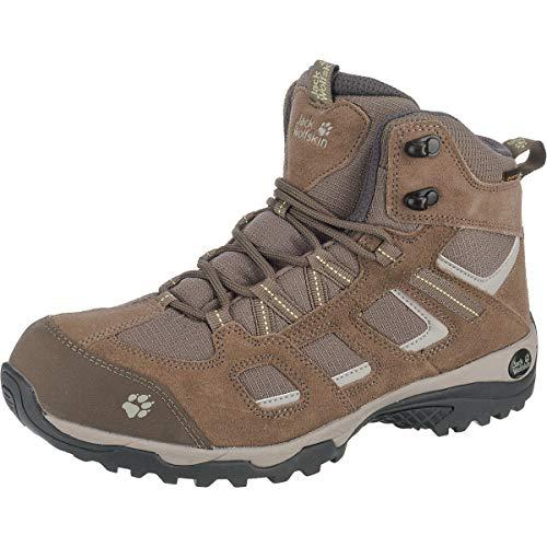 Jack Wolfskin Damen Vojo Hike 2 Texapore MID W Wasserdicht Trekking-& Wanderstiefel, Beige (Siltstone 5116), 37 EU