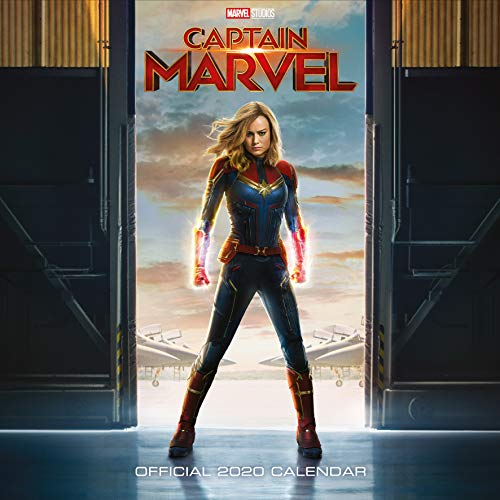 Captain Marvel 2020 Calendar - Official Square Wall Format C