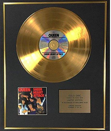 Century Disco de Oro de 24 Quilates, edición Limitada Exclusiva de Queen – Ataque de corazón