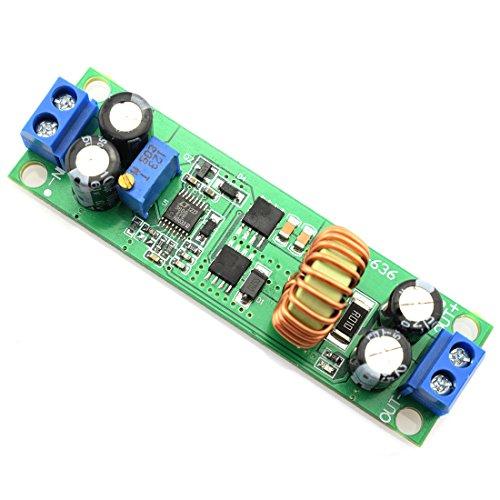 DZS Elec DC-DC 6.5V-60V to 1.25V-30V Buck Voltage Regulator Synchronous Rectification Power Converter Module Adjustable 60V/48V/36V/24V/12V to 19V/12V/9V/5V/3V Step-Down Module