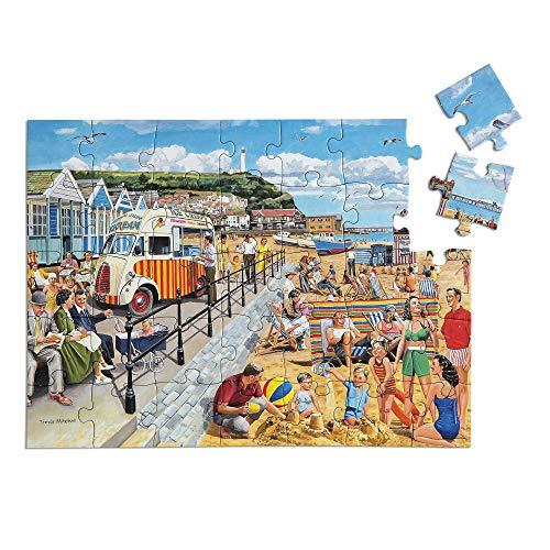 'Seaside Nostalgia' Puzle de 35 Piezas diseñado para Personas ancianas con Demencia / Alzheimer's