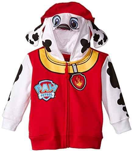 Nickelodeon Little Boys  Paw Patrol Marshall Toddler Costume Hoodie, Red, 3T