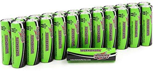 Interstate Batteries AA All-Purpose Alkaline Battery 24 Pack - Workaholic (DRY0070)