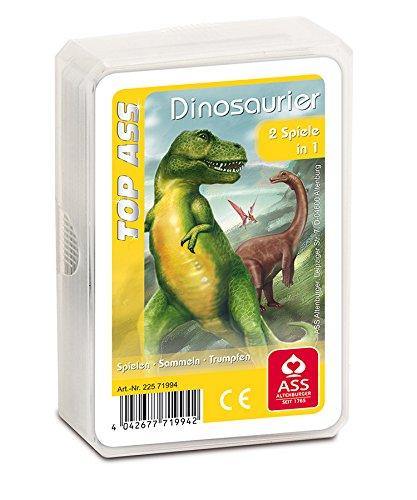 ASS Altenburger Spielkarten Quartett (Dinosaurier 71994)