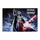 Star Wars Darth Vader 8 Vintage Kunst Leinwand Poster