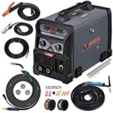 Best Tig Welders - MTS-205 205 Amp MIG/TIG-Torch/Stick Arc Combo Welder, Weld Review