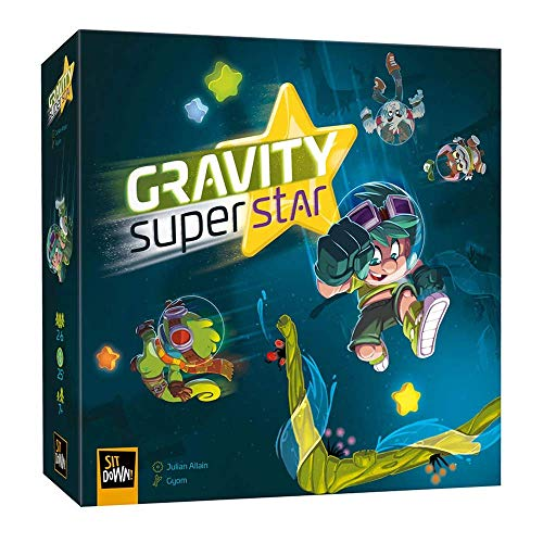Sit Down Games SDGGSS001 Gravity Superstar, Mixed Colours