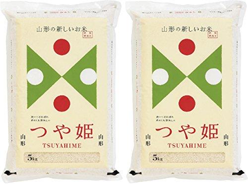 【令和2年産】無洗米 山形県産 特別栽培米 つや姫 10kg (5kg×2袋) 【ハーベストシーズン】 【食味ランク特A】【精米】【HARVEST SEASON】