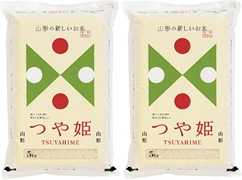 【令和元年産】無洗米 山形県産 特別栽培米 つや姫 10kg (5kg×2袋) 令和元年産 【ハーベストシーズン】 【精米】【HARVEST SEASON】