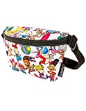FYDELITY Fanny Pack Belt Bag Ultra Slim NICK Nickelodeon 90's TV Cartoon