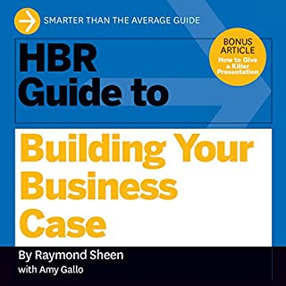 HBR Guide to Building Your Business Case cover art