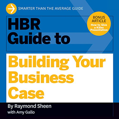 HBR Guide to Building Your Business Case audiobook cover art