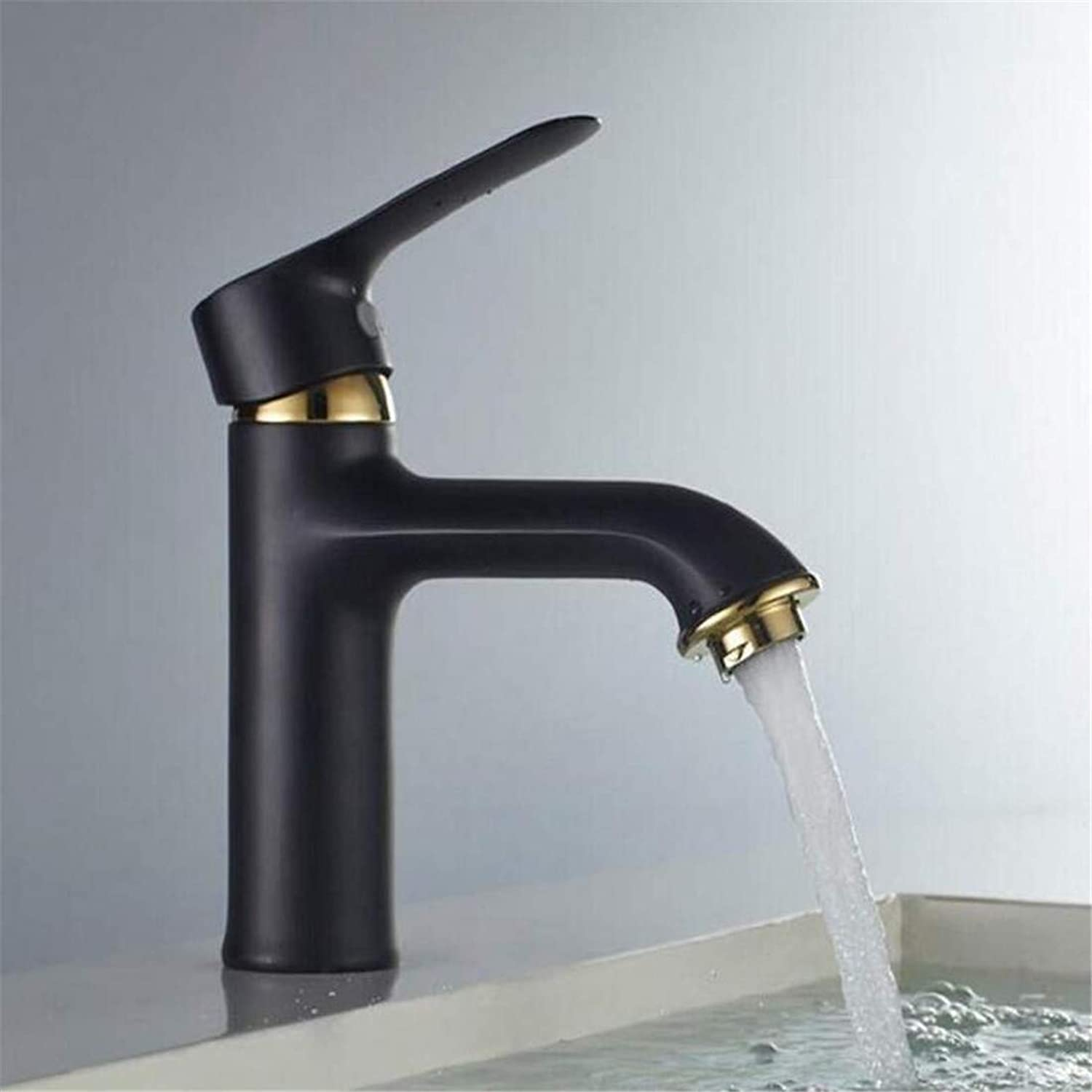 Chrome-Plated Stainless Steel Brass High Quality Bathroom Faucet White Paint Bathroom Basin Faucet Sinks Mixer Vanity Cold and Hot Deck