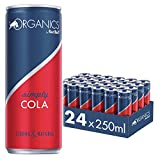 Organics by Red Bull Simply Cola 24 x 250 ml OHNE Pfand Dosen Bio Getränke