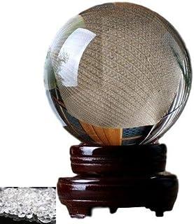 Moana Mahana(モアナマハナ) クリスタル 無色透明 水晶 風水 グッズ 置物 開運 金運 パワーストーン 水晶 110mm 玉 さざれ石 台座付