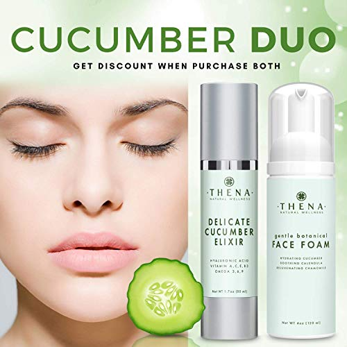 51YWzjV+Z2L - Cucumber Elixir Anti aging Face Cream With Hyaluronic Acid, Natural & Organic Facial Moisturizer Face Lotion Anti aging Face Moisturizer For Women & Men Best Face & Skin Care