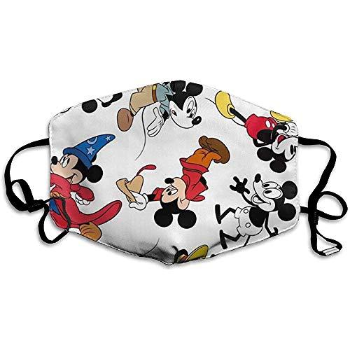 Mickay Mouse Magician Men Women Earloop Ajustable Protector bucal Antipolvo Lavable Protector bucal Reutilizable para Adolescentes Adultos