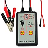 Automotive Fuel Injector Tester, 12V 4 Pulse Modes, Handheld Car Vehicle Fuel Pressure Sys...