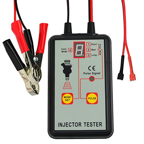 Best Prices! Automotive Fuel Injector Tester, 12V 4 Pulse Modes, Handheld Car Vehicle Fuel Pressure ...