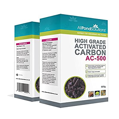 All Pond Solutions High Grade Activated Carbon 4kg (8 boxes) - BULK PURCHASE Aquarium Fish Tank Filter Media