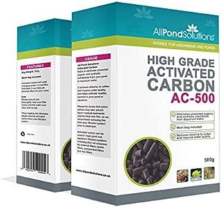 All Pond Solutions Carbón Activado para filtros de acuarios Tanques o estanques, 500g