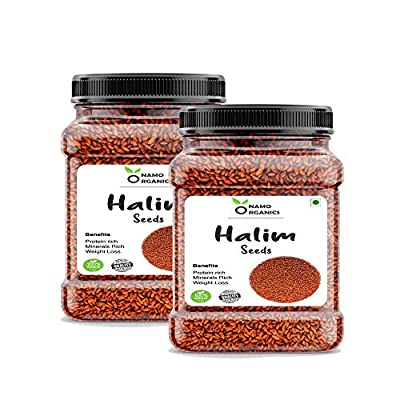 Vallejo Halim Seeds - 700 Gm - (Aliv/Garden Cress) for Eating Organic and Hair Growth