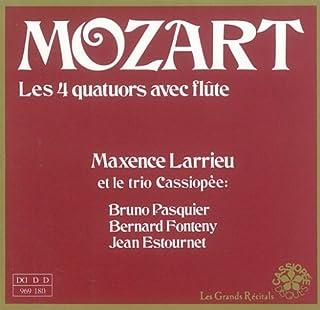 Mozart/ Les 4 Quatuors avec Flute