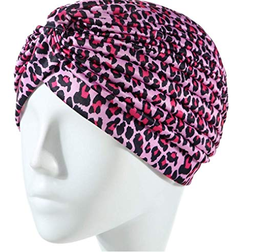 Fashion Street Panter Print hoofddoek, oorbeschermer, hoofddeksel, hoofddeksel, Indiase hoofddeksel, haarschijf A