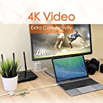 j5create USB C Hub Multi-Adapter Docking Station with HDMI 4K, 2X USB 3.1 SuperSpeed Ports, Ethernet, Power Delivery 2.0 13 The perfect accessory for your MacBook, Chromebook or other laptop with a USB Type-C port. It lets you easily backwards connect your USB Type-C computer to USB 3.0, USB 2.0, HDMI and RJ-45 devices. USB 3.0 SuperSpeed Ports: 2 USB 3.0 SuperSpeed ports, backwards compatible with USB 2.0 and USB 1.1 devices。 Note: Currently not compatible with macOS 11 Big Sur. To avoid any loss of functionality, we strongly advise all Mac users to delay updating to MacOS Big Sur 11 for the time being Get extra connectivity from your computer with 5Gbps fast transfer speeds. Add an additional USB computer peripheral, HDMI Monitor or Gigabit LAN through your USB Type-C port. (note: LAN usage requires download of a free driver)Bullet Point