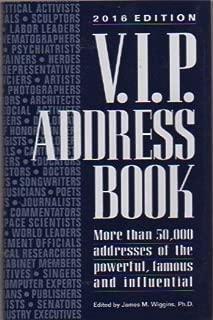 vip address book