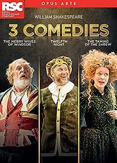 William Shakespeare: 3 Comedies