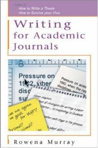 Writing for Academic Journals (Study Skills) (English Edition)