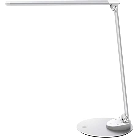 Taotronics Led Desk Lamp Metal Table Lamp Usb Charging Port Eye Care Dimmable Adjustable Durable 5 Color Modes 5 Brightness Levels Memory Official Member Of Philips Enabled Licensing Program Amazon Com