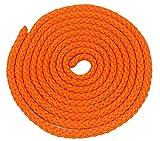 Amaya Sport-Tec - Cuerda de entrenamiento (3 m, 84 g), color naranja