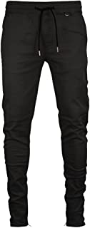 Men's Tapered Zipper Ankle Jogger Pants