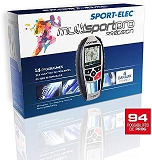 comprar comparacion Sport-Elec Multisport Pro Précision Electroestimulador, Hombres y Mujeres, Azul, Talla Única