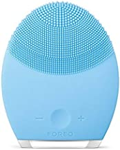FOREO LUNA 2 Silicone Facial Cleansing Sonic Brush and Waterproof Anti-Aging device