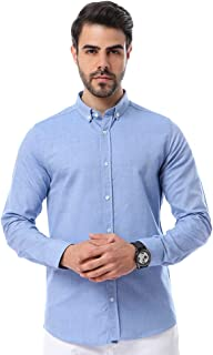 Andora Cotton Basic Long Sleeves Shirt for Men