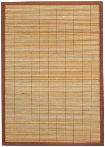 Ridder Beach 7951308 Tapis de bois 100 % bambou Marron 60 x 90 cm