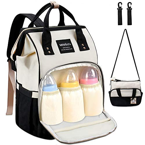 Diaper Bag Backpack - MOSFiATA Multifuctional Waterproof...