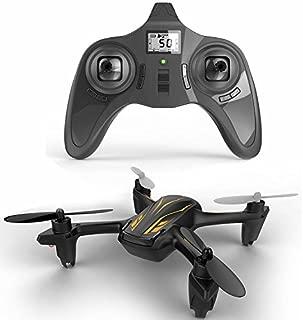 HUBSAN H107P X4 Plus 4 Channel Altitude Mode 2.4GHz RC Series Quadcopter Mode 2 RTF (Black)